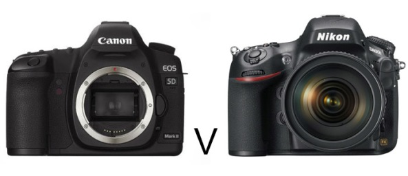 canon 5d mark2 v nikon D800e landscape photography comparison test